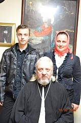 New Father Rector, Priest Alexander Revyuk
