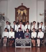 Protopresbyter John Shachneff & Maria Klestoff, center